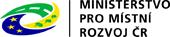 logo Ministerstva pro místní rozvoj České republiky