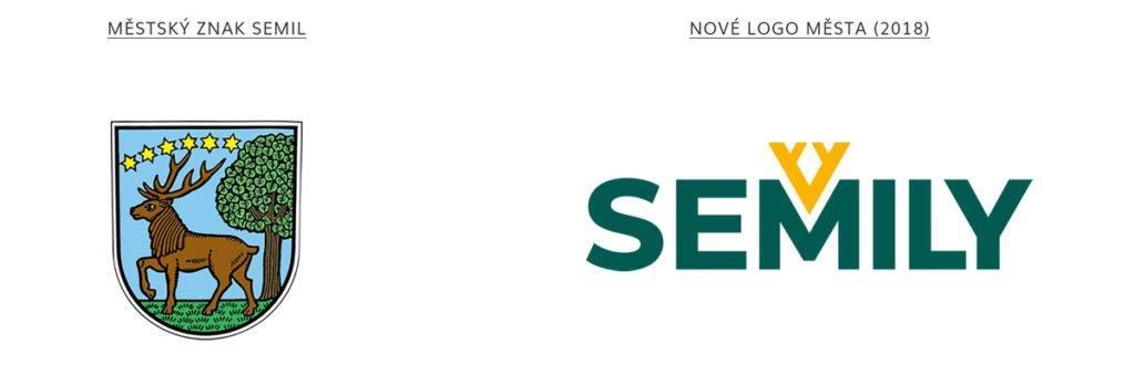 logo města Semily