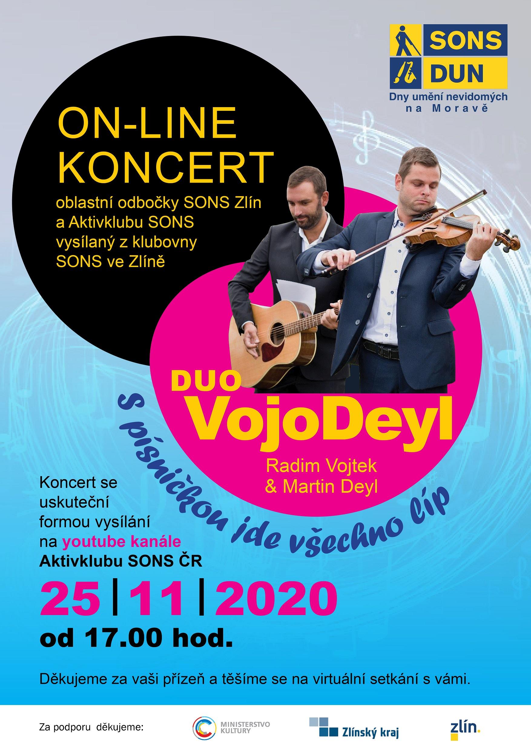 online koncert_VojoDeyl